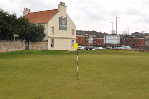 4th green, Musselburgh Links