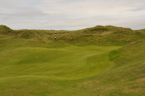 13th green, Machdunes