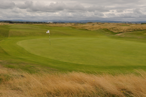 15th green, Troon