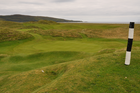 17th green, Machrie