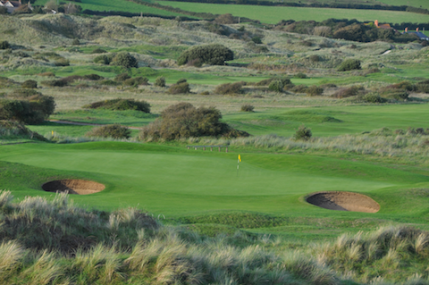Golf in the Braunton Burrows